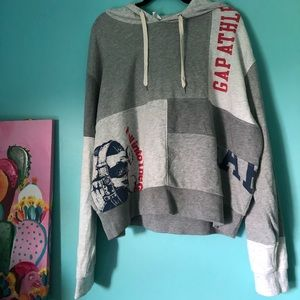 Grey Blocked Sweatshirt